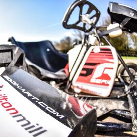 close up of Sodi kart SR5