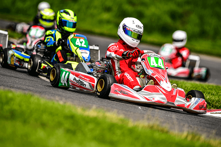 Action from Whilton Mill Kart Club