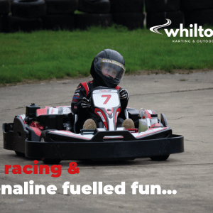 Junior arrive and drive go-karting on the Mill Circuit