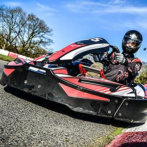 Sodi Kart SR5 on the International Circuit