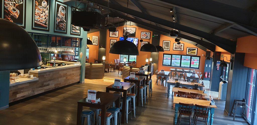 American diner inspired restaurant