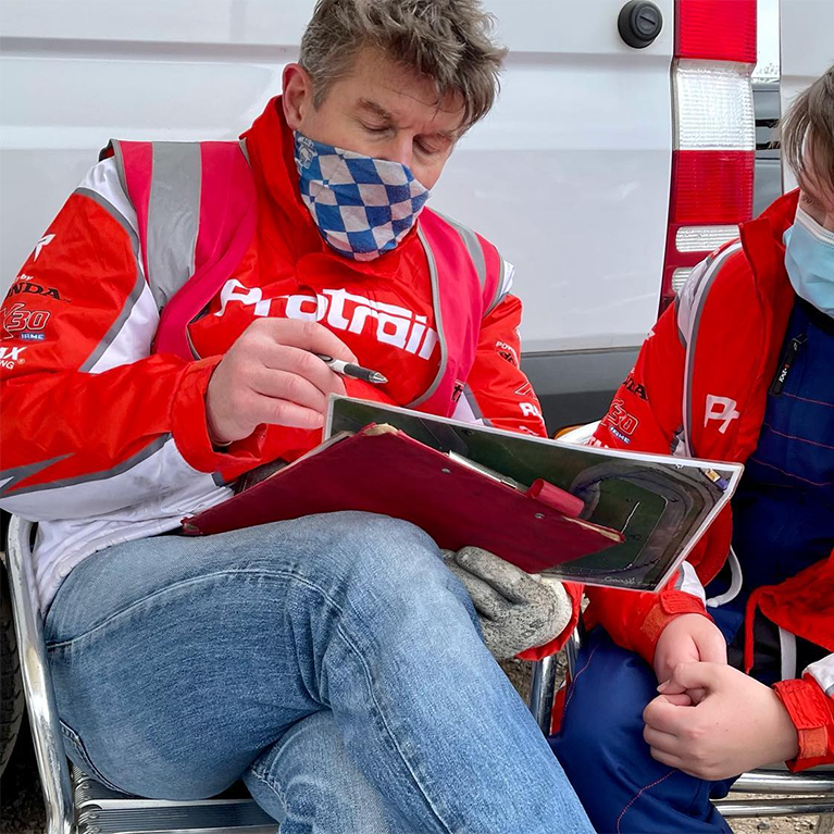 Steve Deeks race driver coach