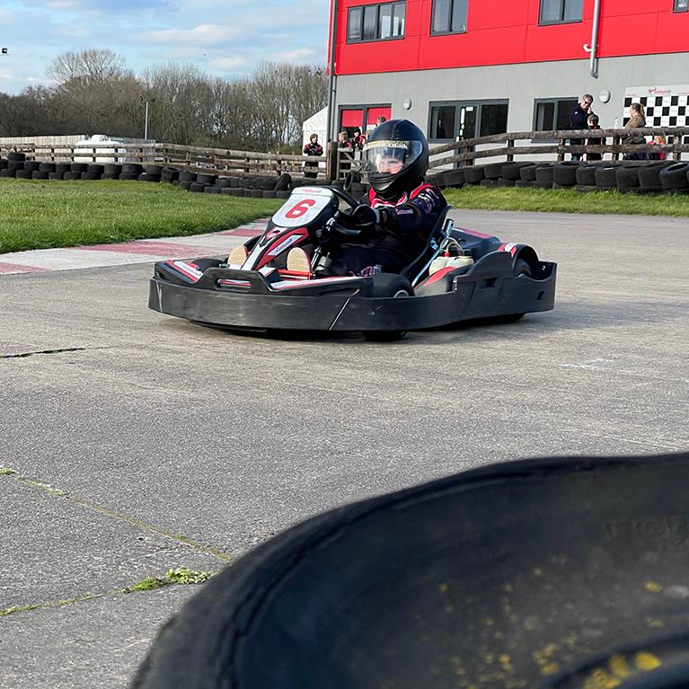 Junior go-kart